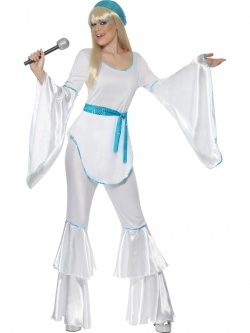 181bd68d3325 Retro kostým - Bílý - Ptákoviny Florenc