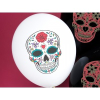 Balonky Day of the Dead - 6 ks
