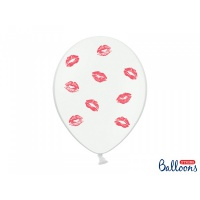 Balonky - red lips 6 ks
