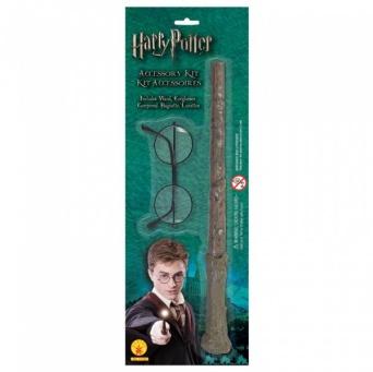 d90586047 Brýle a hůlka - set čaroděj Harry Potter - Ptákoviny Florenc