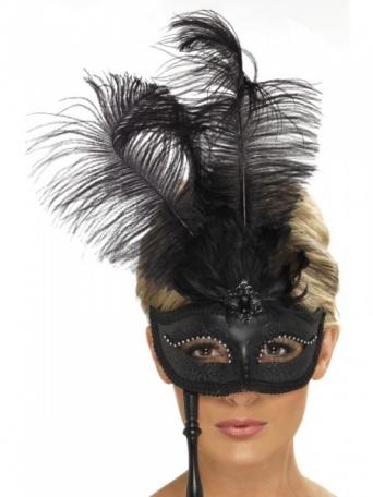 7773790b8 Benátská maska Tajemná lady - Ptákoviny Florenc