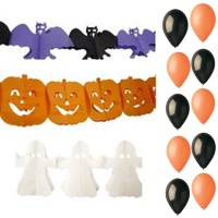 Girlandy Halloween - set