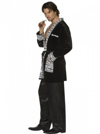 aae7c2bb460 Kostým pro muže - Sexy retro kuřácký úbor - Ptákoviny Florenc