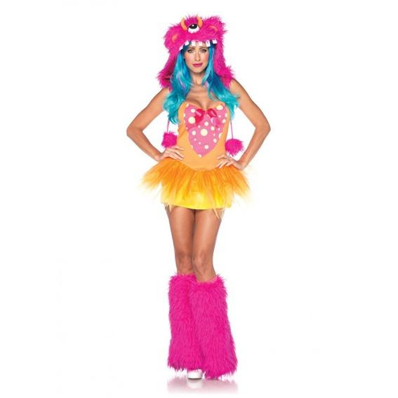 Disco barevný kostým příšerka - Ptákoviny Florenc 3b8c1e4d09f