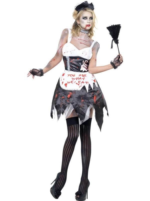 3e64c474eb8e Kostým pro ženy - Zombie pokojská - Ptákoviny Florenc