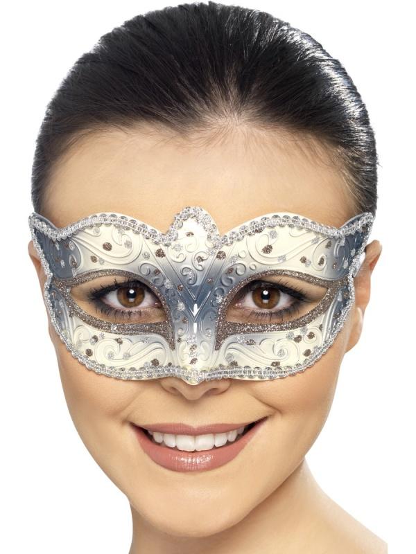 07cce803e Benátská maska – zimní královna - Ptákoviny Florenc