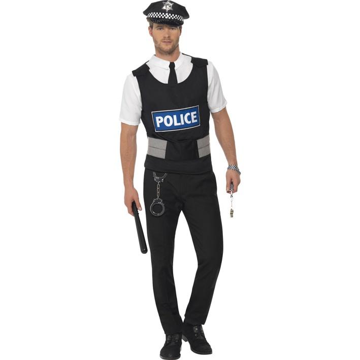 Kostým pro muže - Policista - Ptákoviny Florenc f84e5dc7547