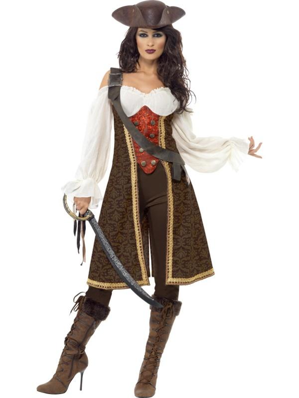 5d6e234bb4e1 E-shop   Karnevalové kostýmy   Dámské kostýmy   Kostým pro ženy - Pirátka  guvernérka